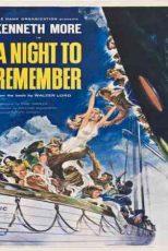 دانلود زیرنویس فیلم A Night to Remember 1958