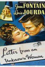 دانلود زیرنویس فیلم Letter from an Unknown Woman 1948