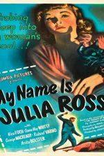 دانلود زیرنویس فیلم My Name Is Julia Ross 1945