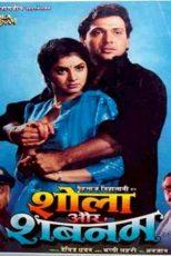 دانلود زیرنویس فیلم Shola Aur Shabnam 1992