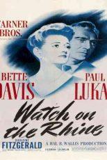 دانلود زیرنویس فیلم Watch on the Rhine 1943